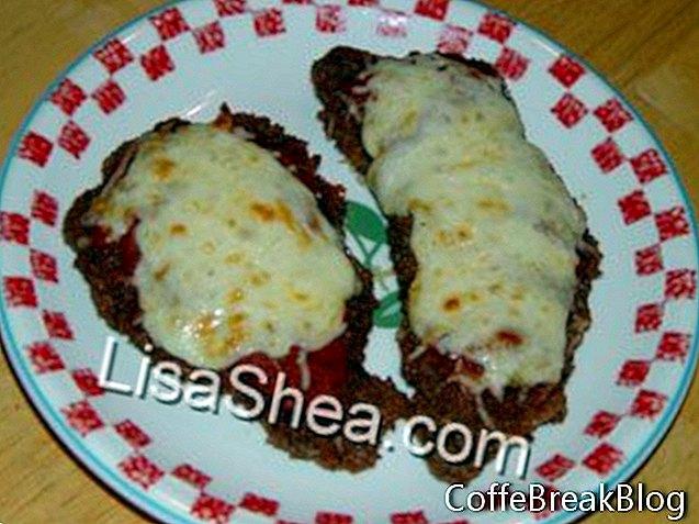 Italienisches Kalbfleisch Parmigiano Schnitzel Rezept