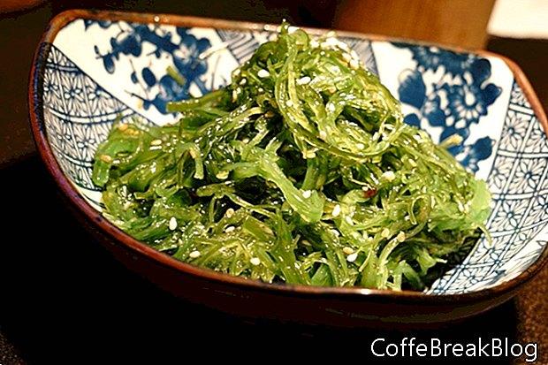 Морски водорасли с ниско съдържание на въглехидрати за хранене със сандвич