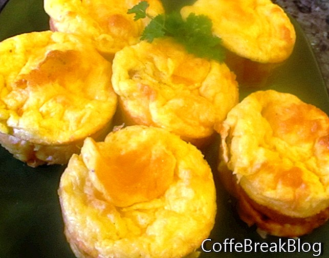 Schinken & Spargel Muffin Pfanne Omeletts Rezept