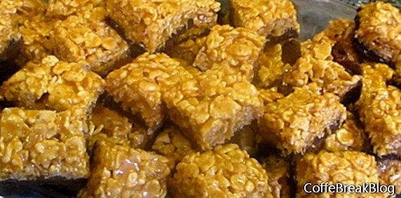 Przepis na Brownies Crunch z karmelem