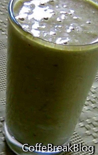 Pilzkohl-Shake-Entsaftungsrezept