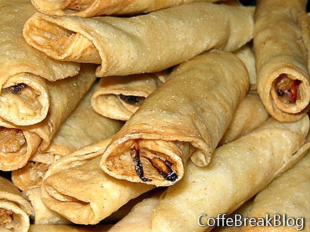 Бурито с рецепта за сос Enchilada