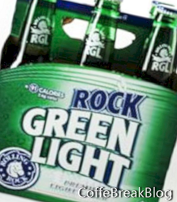 Rolling Rock Green Light Low Carb Bier