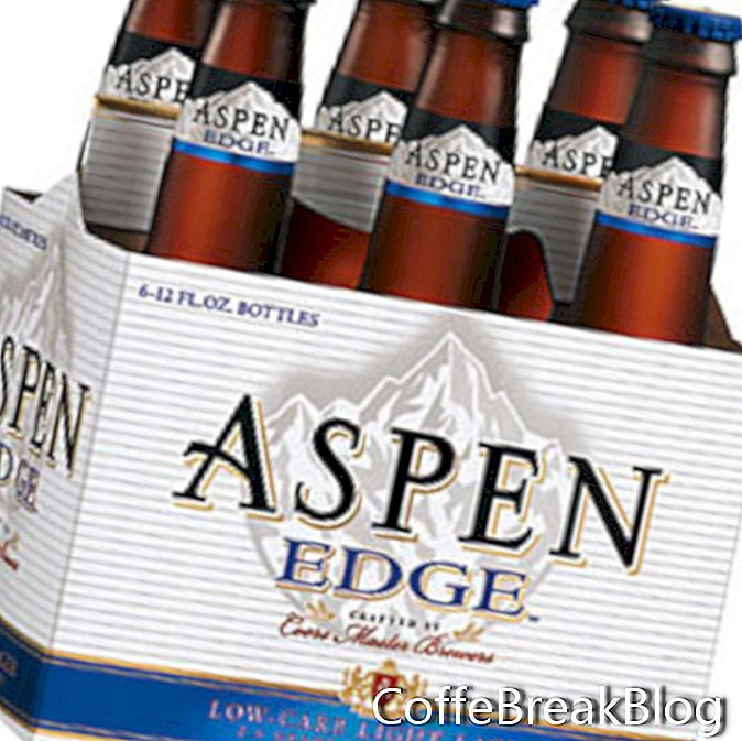 Aspen Edge Coors z nizko vsebnostjo ogljikovih hidratov