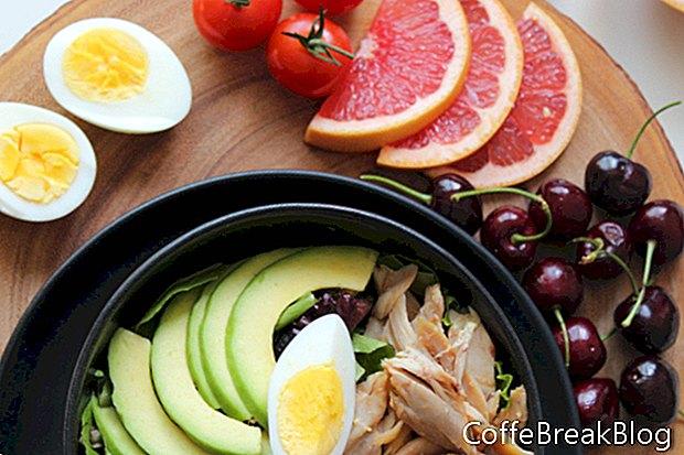 Experimento de dieta de vinagre de sidra de manzana