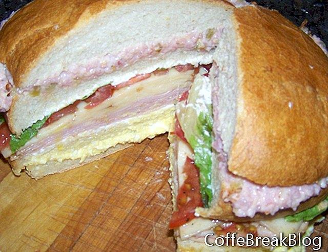 Resipi Sandwich Berkelah Tiga Layer
