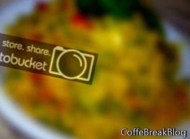 Gegrilltes Curry-Hähnchen-Reissalat-Rezept