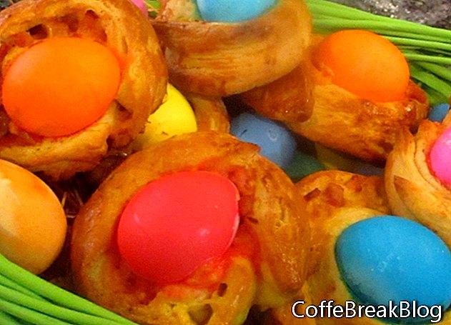 عيد الفصح Brioche الإفطار الكعك وصفة
