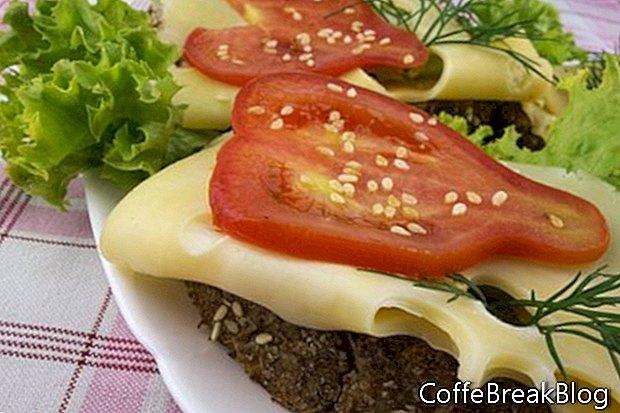 12 ideas frescas de sandwich de tomate