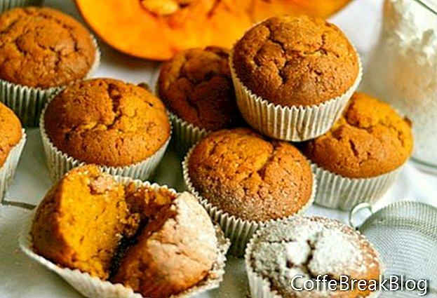 Ajasäästlikud kõrvitsa muffinid ja lisa