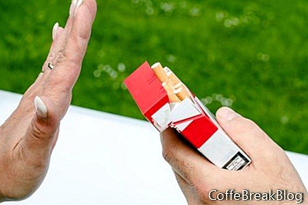 Stimulant Meds in nižje stopnje kajenja z ADD