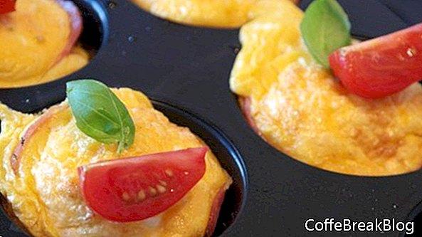 Mini omelettes au four pour ajouter de la nutrition