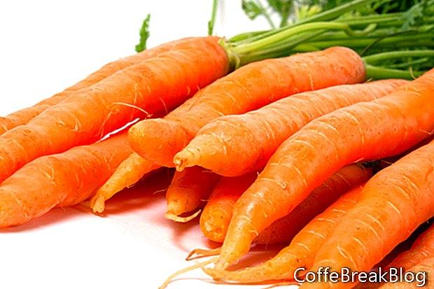 Gesundes Obst und Gemüse essen - 5 pro Tag