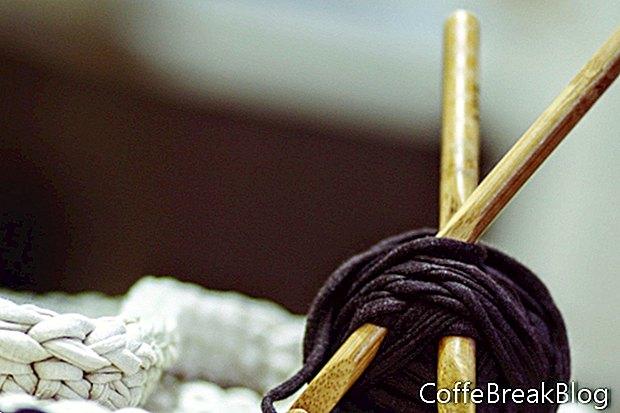 Съвети за сплъстяване на плетене на една кука