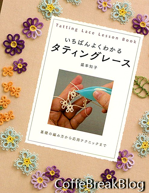 Tomiko Morimoto Tatting Lace Book Book 2018