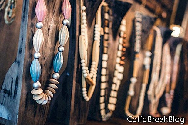 Arten von Perlen ...
