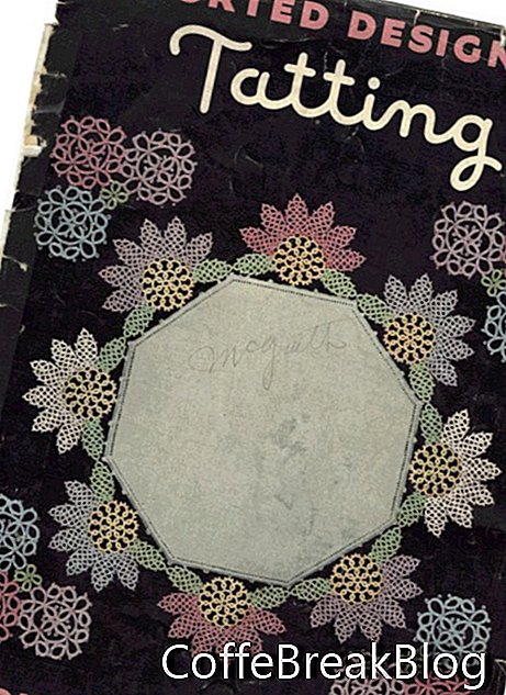 couverture Imported Designs of Tatting # 77, 1936