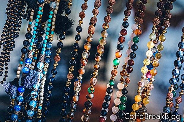 Häkeln mit Draht & Perlen schafft Ohrringe