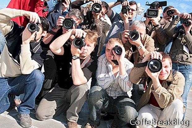 Různé typy formátu fotoaparátu