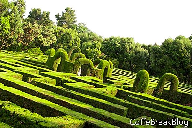 Englische Gartenpostkarten und Stichsägen