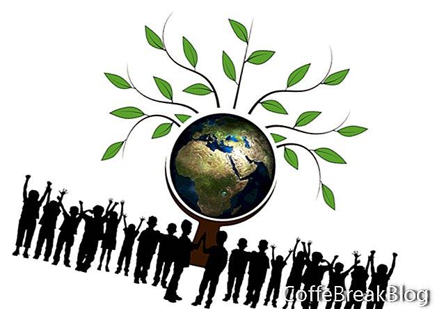 So helfen Sie Ihren Kindern, grün zu werden