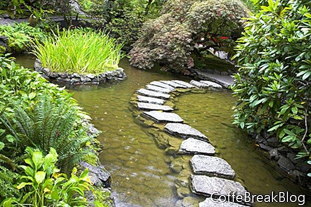 Een rustgevende tuin