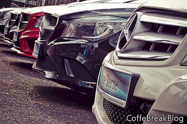 Test de cumpărare de mașini noi