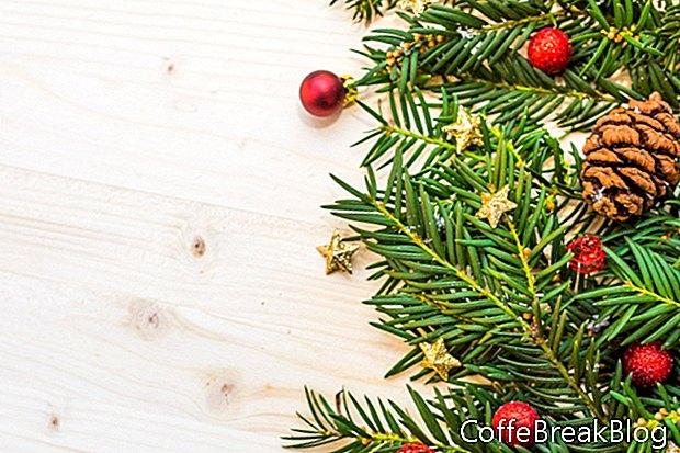 Naturlige julepynt