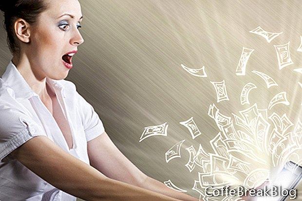 Organisieren von Gewinnspielen von Lieblingswebsites