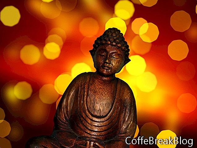 Farbiace listy inšpirované budhistami