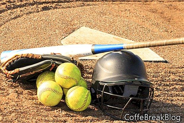 Scorekeeping ein Outfield Hit