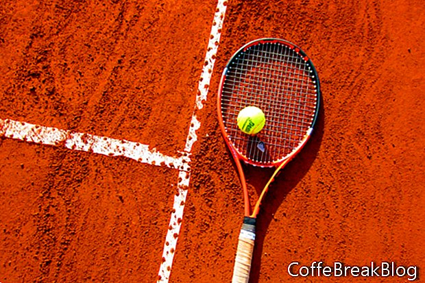 Verbeter uw positie om uw tennisspel te verbeteren