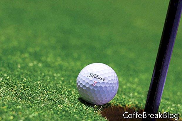 גולף לבן אוחז באופנה חדשה