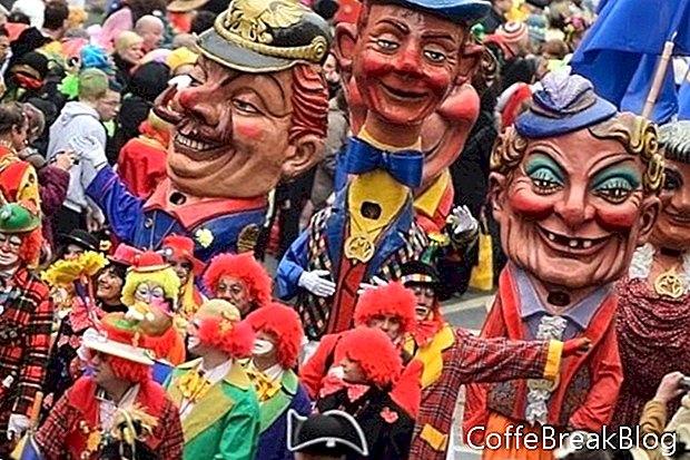 Carnival Đức, Fasching, Fastnacht và co
