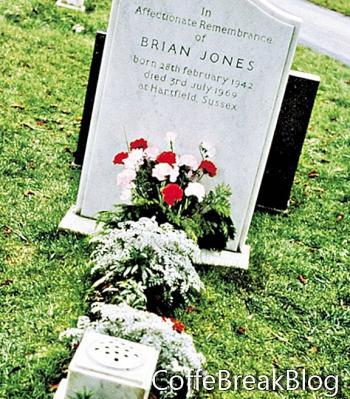 براين جونز - مقبرة شلتنهام