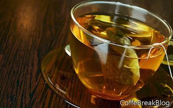 Соединение еды и чая