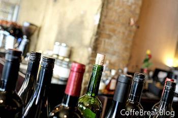 Stoppen Sie Weinverschüttungen mit Weinwindel