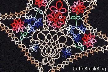 Tatting Embellished Pincushions!