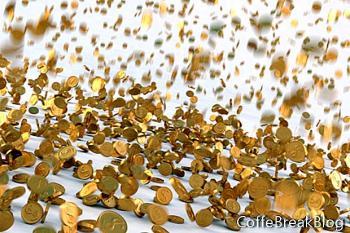 Monety wykonane w biżuterię